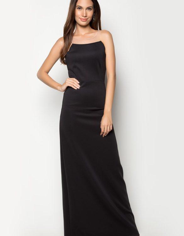 Katie Long Gown BLACK 2